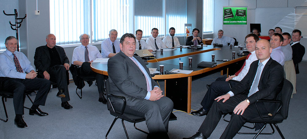 Last Recovery Industry Standards Committee meeting at Heathrow in 2006