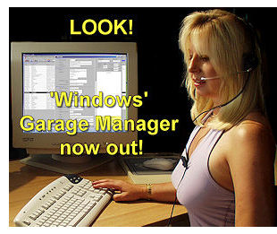 Motor Trade Software Windows Garage Manager