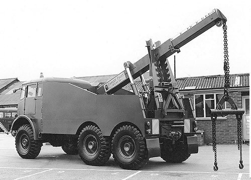 A Harvey Frost ligh and Heavy Recovery or Salavge crane
